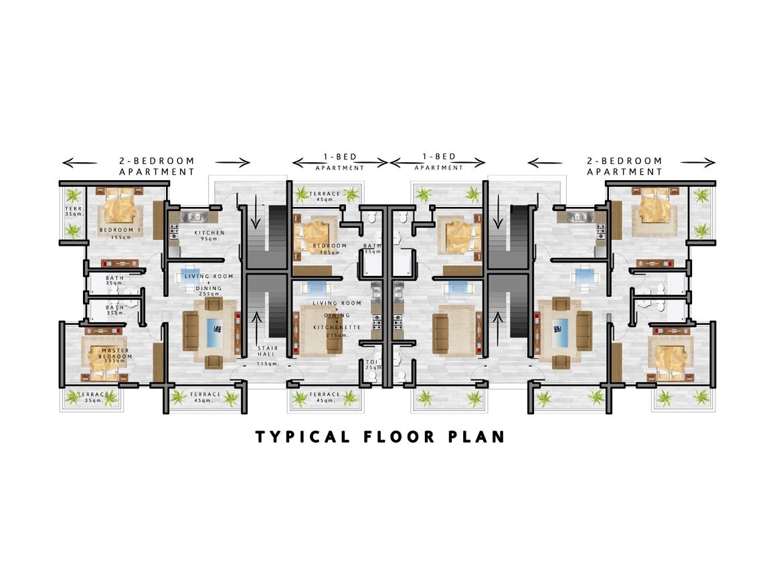 Clique Apartment (2 bedroom)